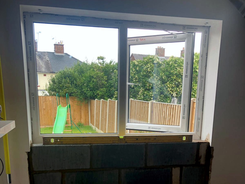 French Door/Window Swap