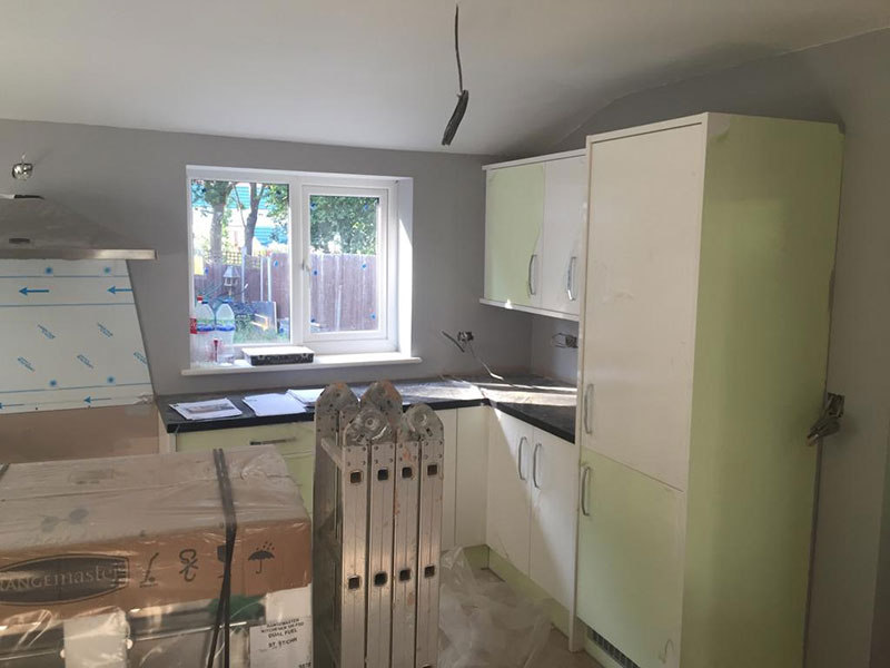 John Ketland Kitchen Installation